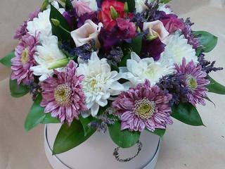 Цветы в коробочках по привлекательным ценам