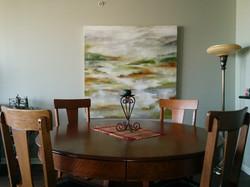 Aril Ponsford's painting in situ