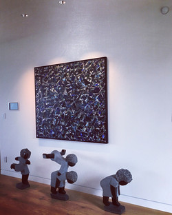 Sculptures with painting