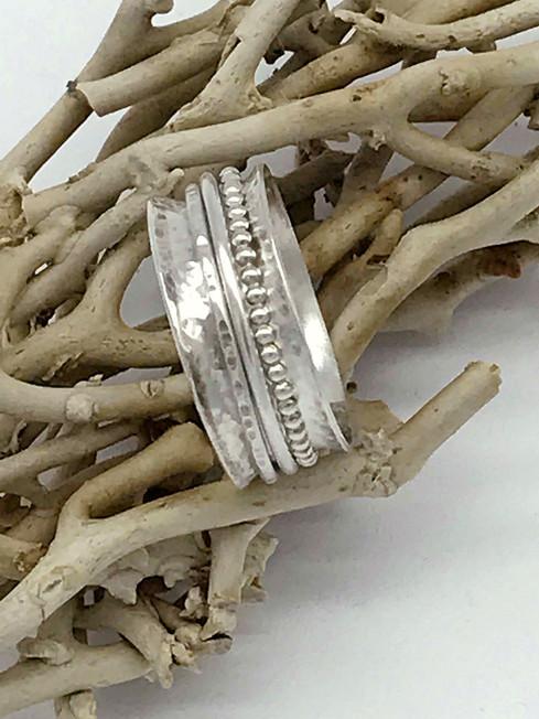 Sterling Spinner Ring