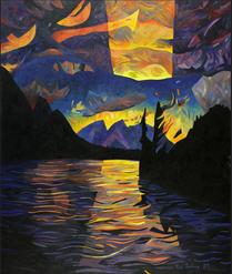 Chilco Lake Sunset