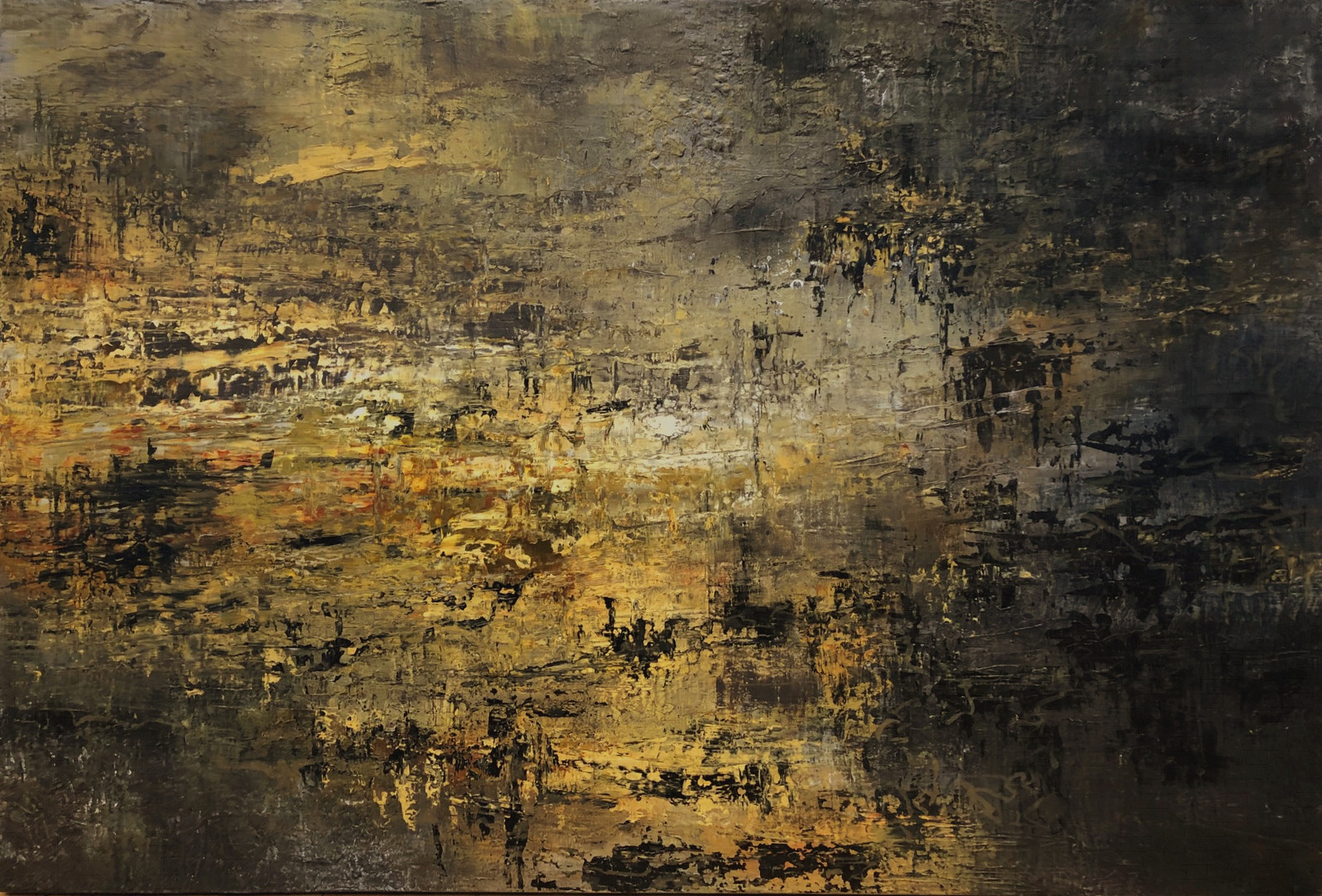 The Deepest Place (40%22 x 59%22) by Apr