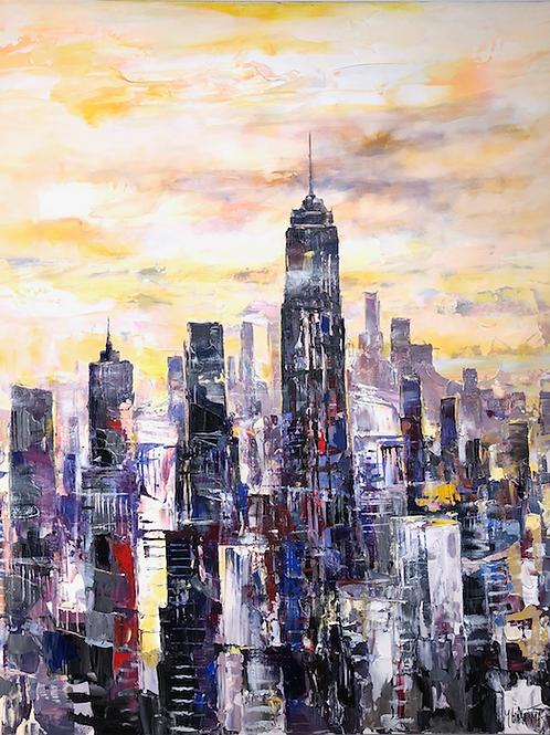 Cityscape by Paul Ygartua