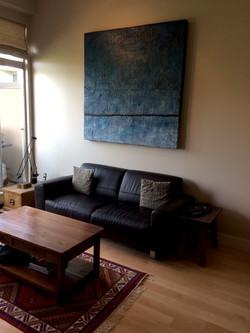 Art in sitting room
