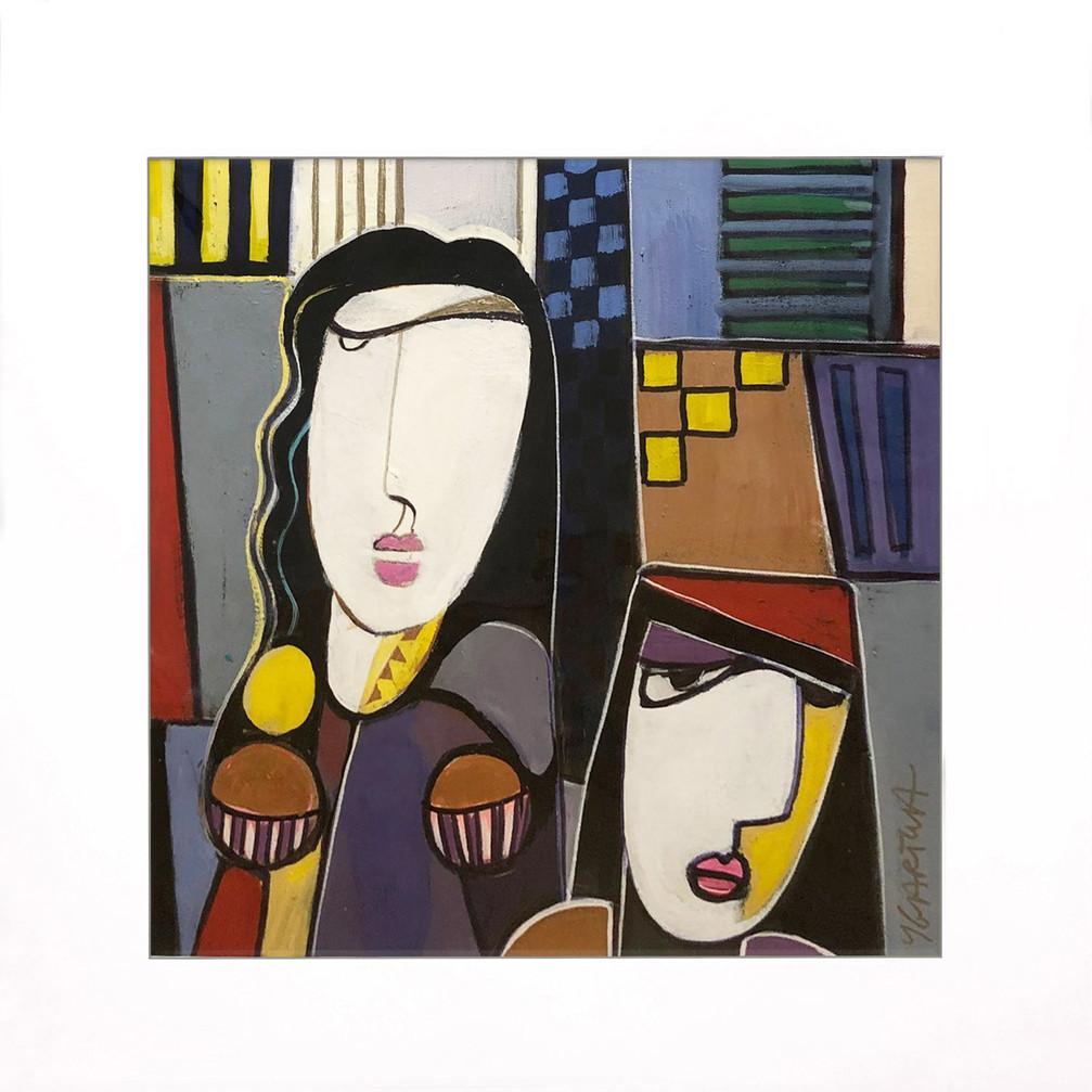 Cubist 127 - Paul Ygartua 24x24 image si