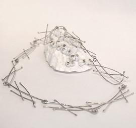 Silver Twigs Necklace