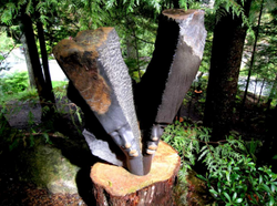 Public art sculpture