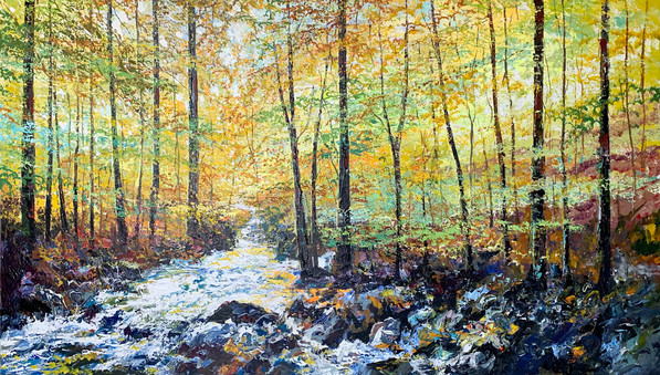 Autumn is Here by Paul Ygartua - 44x72.j
