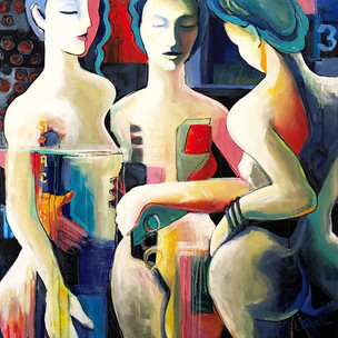 3 Graces by Jeanette Jarville