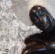 Modern stone sculpture & painting for interior design, landscape design, decor, commercial design, art collection