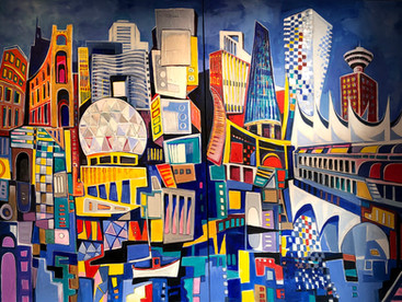 The Evolving City (Diptych)
