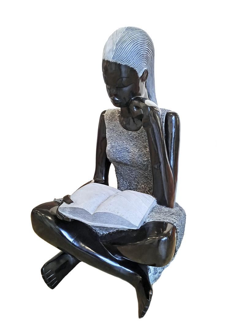 Girl with a Book - Askim Wisikesi