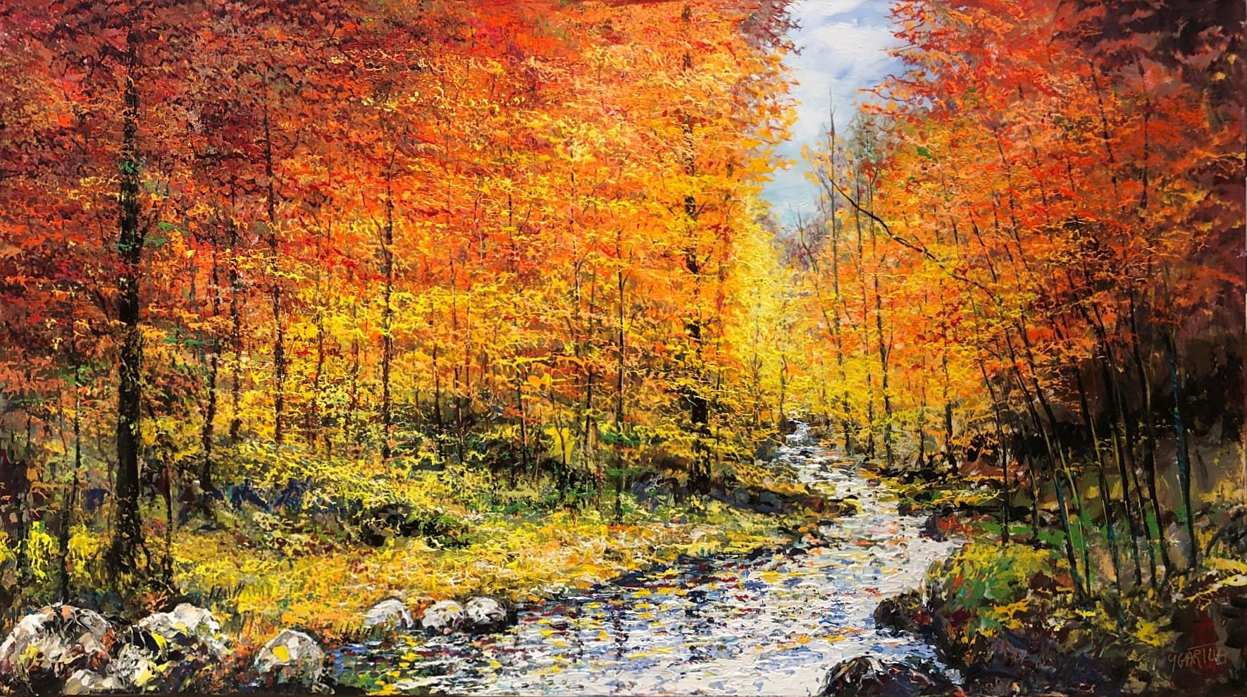 Autumn Reflections by Paul Ygartua