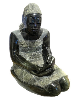 Sitting Quietly by Jonathan Mhondorohera