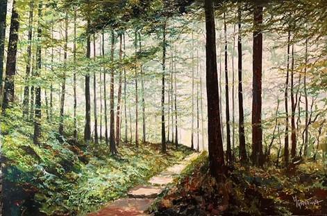 A Stroll through the Park - Paul Ygartua 4x6.jpeg