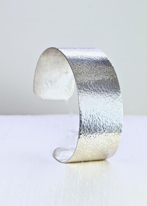 Hammered Sterling Bracelet