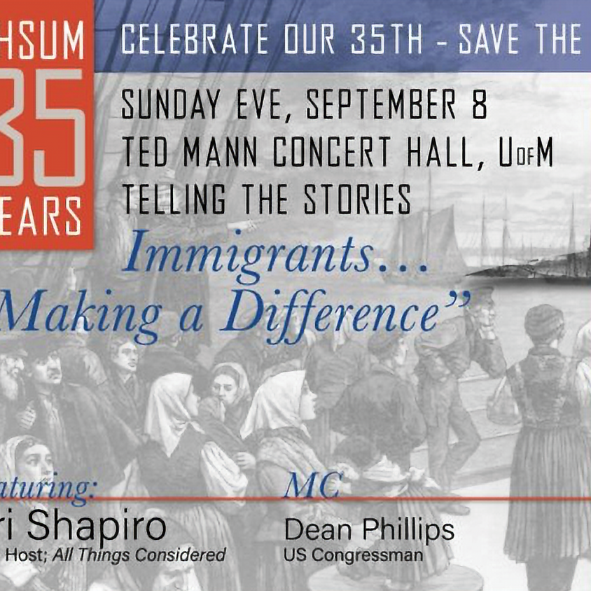 """Immigrants…""""Making a Difference"""" A Discussion with Ari Shapiro, Host of NPR's All Things Considered"""
