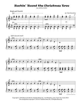 PAGE ! - Rockin' .. Christmas Tree (EASY