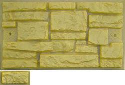 Фасадный камень форма пластик ПВХ АБС 2