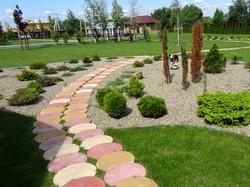 Садовые дорожки из Сегментов