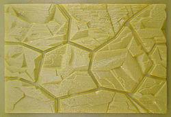 Фасадный камень форма пластик ПВХ АБС 3