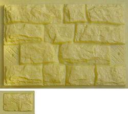 Фасадный камень форма пластик ПВХ АБС 1