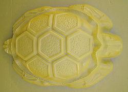 Ландшафтная скульптура форма пластик ПВХ АБС 4