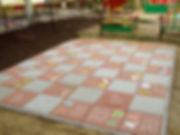 Тротуарная плитка Алфавит