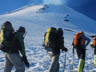 Can I reach the crater of Villarrica volcano in Pucón?