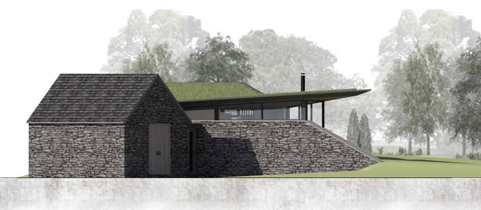 Home office and garden room near Brecon
