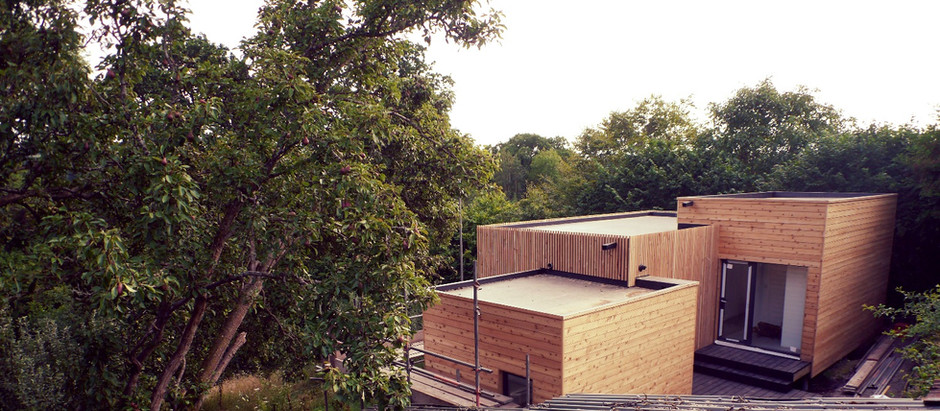 Apple Orchard Cabin's | Talgarth | Only weeks away from completion
