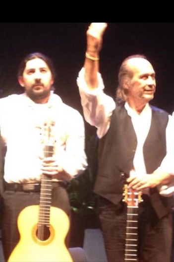 with Paco de Lucia