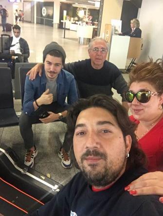 Antonio Rey & Family