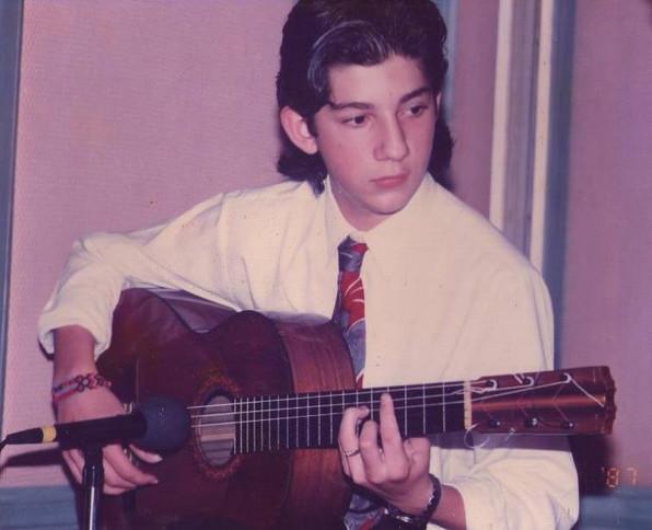 Young Antonio Rey