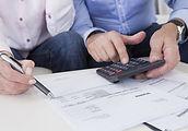 Men with Calculator