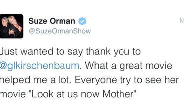 Suze Orman (Tweet)