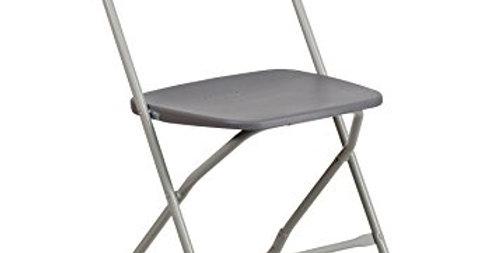 Grey Folding chair