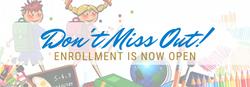 Enrollment Website Banner