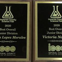 Science Fair Winner Awards