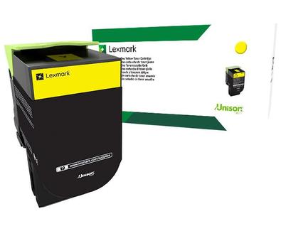 80C8XY0 - 808XY Yellow Extra High yield Return Toner Cartridge