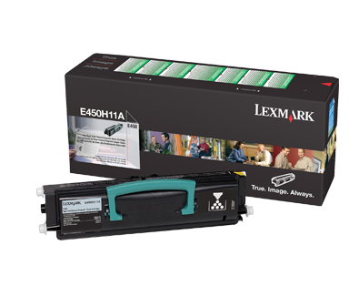E450H11P - Lexmark E450 High Yield Return Program Toner Cartridge