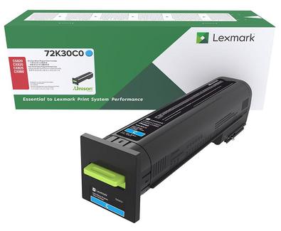 72K30C0 - CS820/CX820/CX825/CX860 Cyan Return Program Toner Cartridge