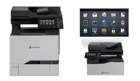Lexmark CX725de A4彩色多功能鐳射打印機
