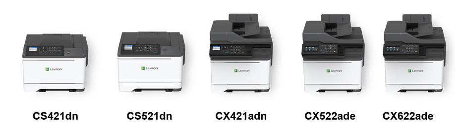 A4彩色單功能及多功能打印機