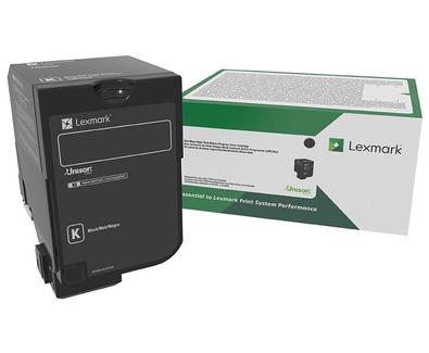74C3SK0 - CS720/CS725/CX725 Black Standard Return Program Toner Cartridge