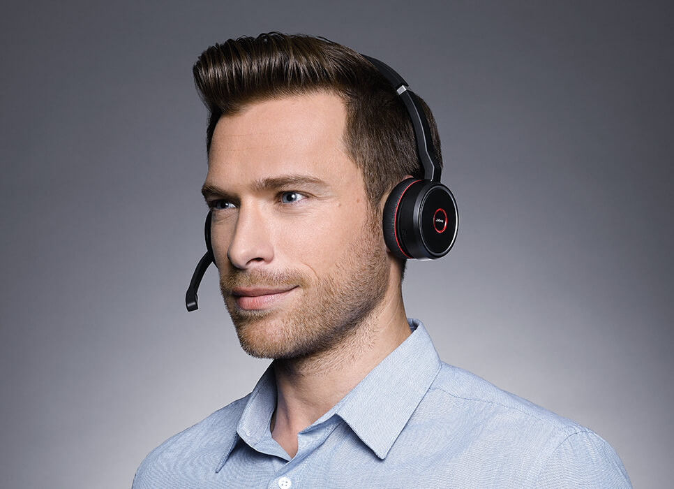 Jabra Evolve 75 - The best wireless headset for concentration in the open office