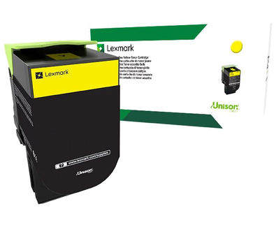80C8HY0 - 808HY Yellow High Yield Return Toner Cartridge