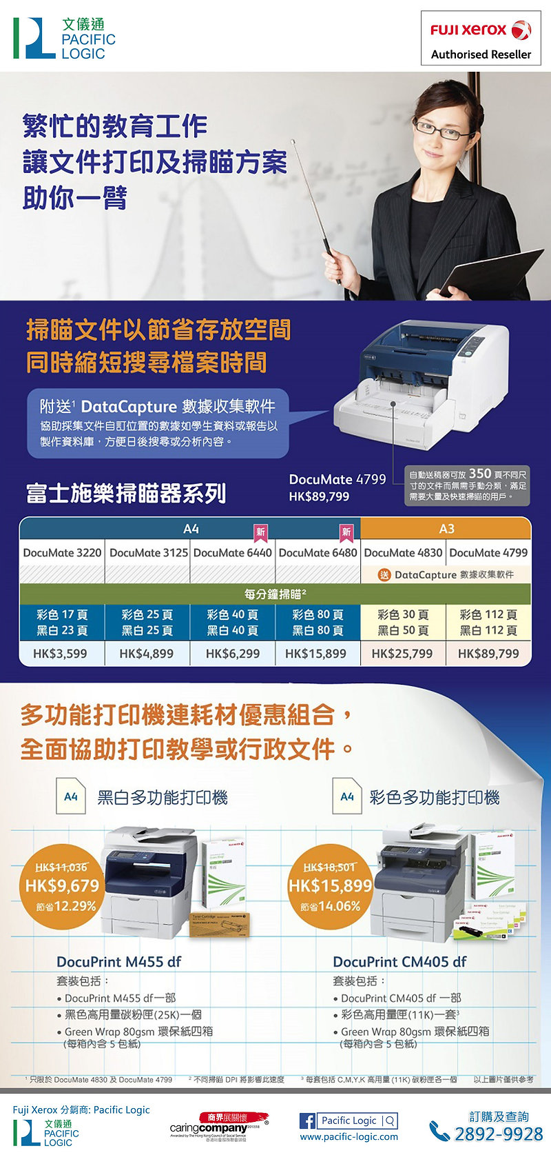FX EDM_DocuPrint285_Printer promo resell