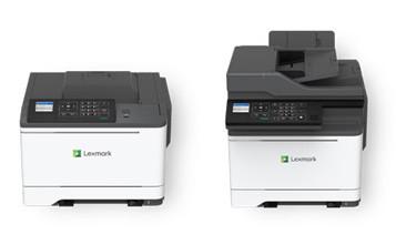 Lexmark 最新A4幅面,中小企彩色單功能及多功能打印機