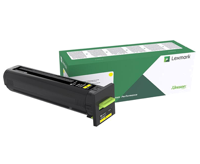 72K30Y0 - CS820/CX820/CX825/CX860 Yellow Return Program Toner Cartridge